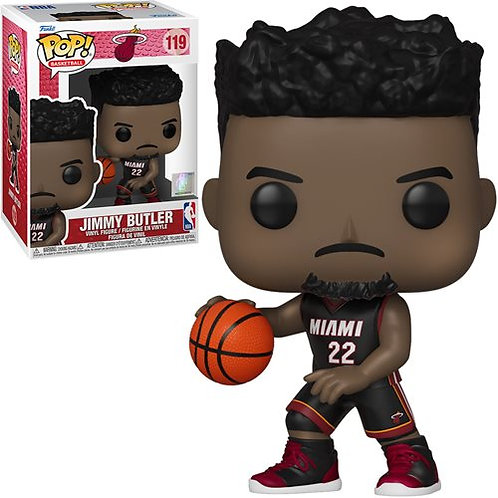 NBA Heat Jimmy Butler (Black Jersey) Pop! Vinyl Figure Preorder