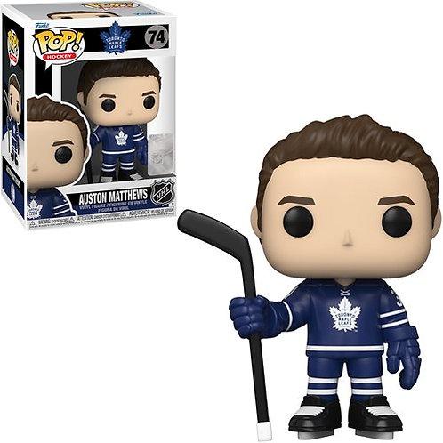 NHL Maple Leafs Auston Matthews (Home Uniform) Pop! Vinyl Figure Preorder