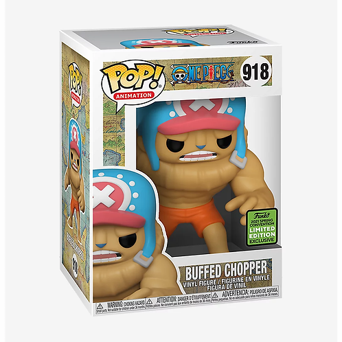 Funko One Piece Pop! Animation Buffed Chopper 2021 ECCC Shared Exclusive HT
