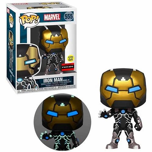 Iron Man Model 39 Glow-in-the-Dark Pop! Vinyl Figure