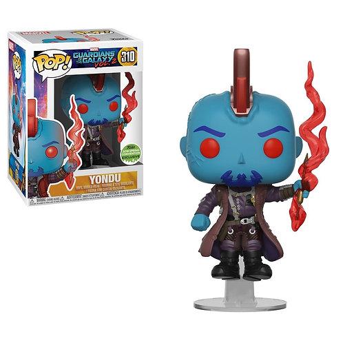 Funko Pop! Marvel #310 Guardians of The Galaxy Vol. 2 Yondu with Arrow ECCC