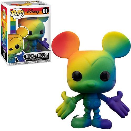 qcr3pf Mickey Mouse Pride 2021 Rainbow Pop! Vinyl Figure Preorder