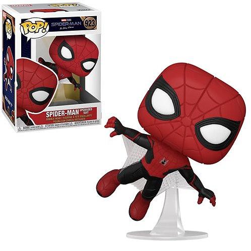 Spider-Man: No Way Home Spider-Man Upgraded Suit Pop! Vinyl Figure Preorder