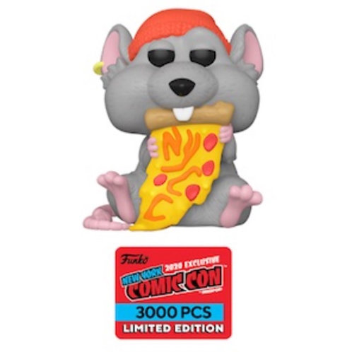 Funko Pop! Pizza Rat Red Hat NYCC 3000 PCS