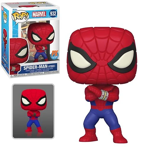 Marvel Spider Man Japanese TV Series Pop! PX Excl 1/6 Possible Chase Preorder