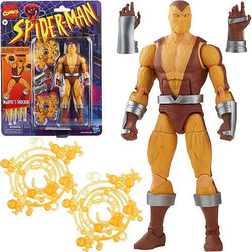 Spider-Man Retro Marvel Legends Shocker 6-Inch Action Figure Preorder