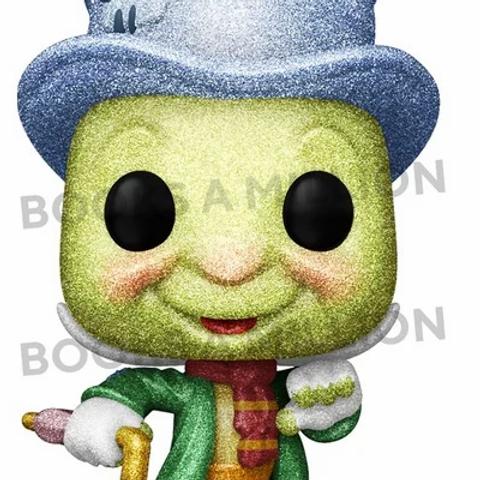 Funko  Pop! Pinocchio- Jiminy Cricket Diamond Collection BAM Exclusive