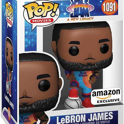 Funko Pop! Movies Space Jam A New Legacy Lebron James Amazon Exclusive Preorder