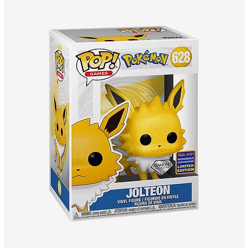 Funko Pop! Pokémon Jolteon Diamond Glitter Wondercon Exclusive