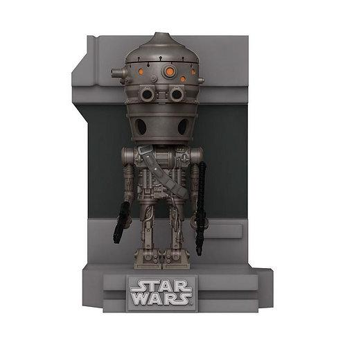 POP! Deluxe: Star Wars Bounty Hunter IG-88 Metallic GameStop Exclusive