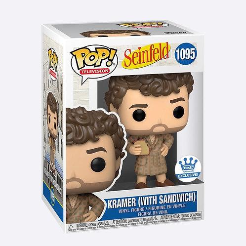 Funko Pop! KRAMER WITH SANDWICH SEINFELD Funko shop Exclusive