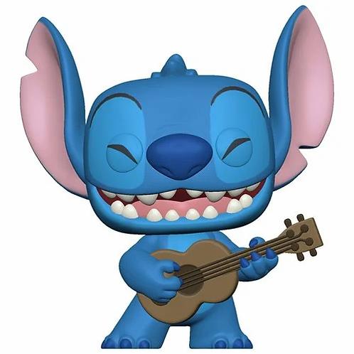 Lilo & Stitch Stitch with Ukulele Pop! Vinyl Figure PREORDER
