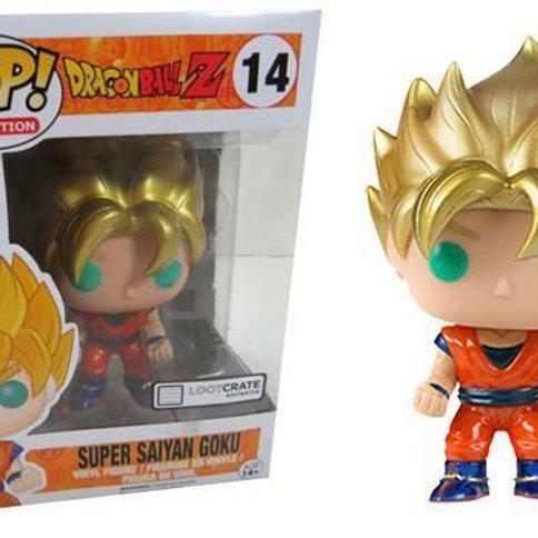 Super Saiyan Goku(Metallic)#14 Box Destroyed