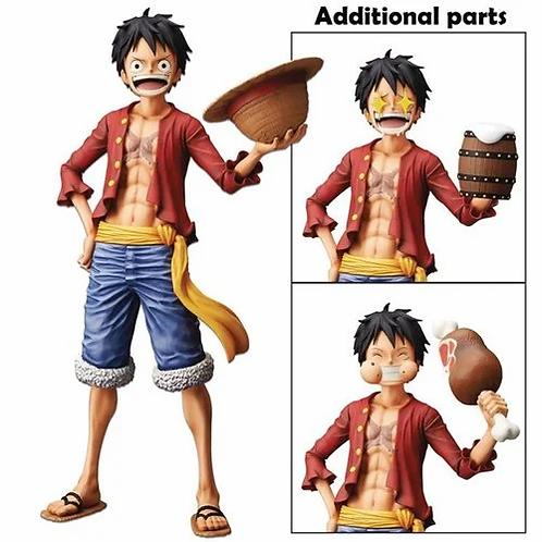 One Piece Monkey D. Luffy Grandista Nero Statue Preorder