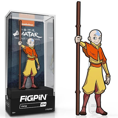 Avatar: The Last Airbender Aang FiGPiN Classic Enamel Pin