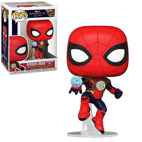 Spider-Man: No Way Home Spider-Man Integrated Suit Pop! Vinyl Figure Preorder