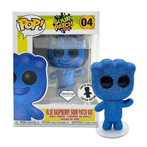 EXCLUSIVE POP! DIAMOND COLLECTION BLUE RASPBERRY SOUR PATCH KIDS