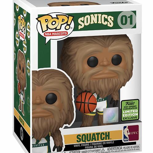 Squatch - NBA Legends Mascots 2021 ECCC Exclusive Funko Pop!