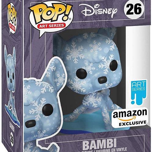 Funko Pop! Disney Treasures of The Vault Bambi Artist Series Amazon Exclusive
