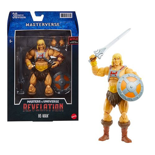 Masters of the Universe Masterverse Revelation He-Man Action Figure Preorder