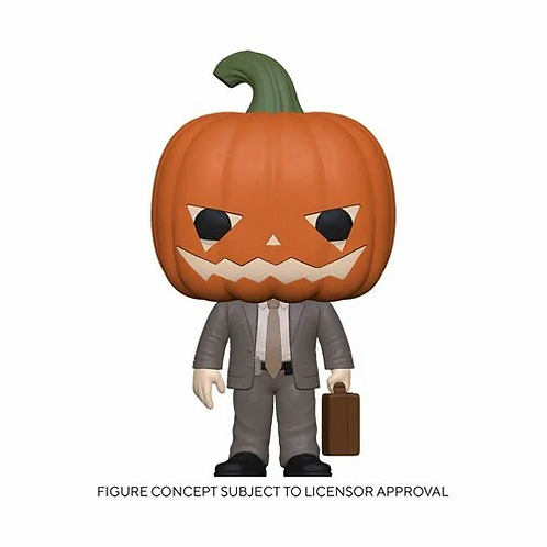 The Office Dwight Pumpkinhead Pop! Vinyl Figure Preorder