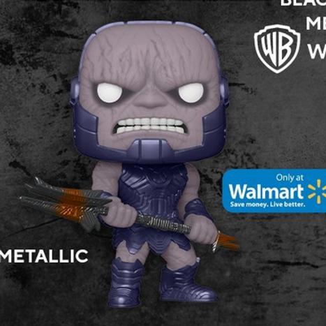Funko POP!Movies Zack Snyder's Justice League Darkseid Metallic Walmart Preorder