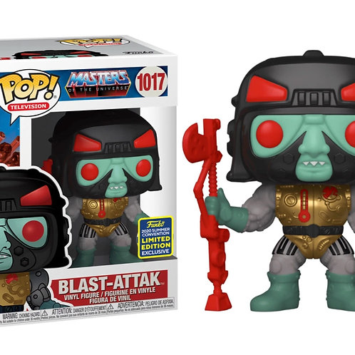 Funko POP ! Masters of the Universe  Blast-Attak  2020 SDCC Toy Tokyo Exclusive