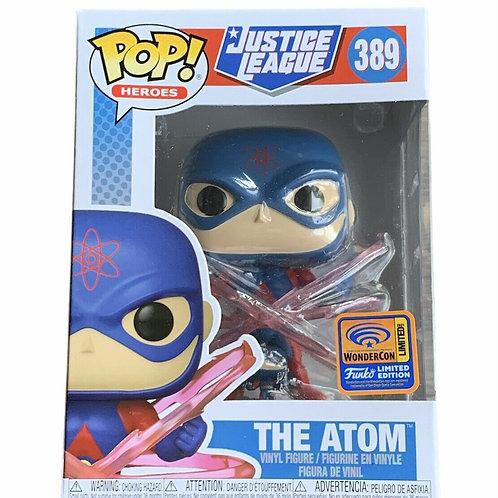 Funko Pop! DC Justice League The Atom WonderCon 2021 Official Sticker