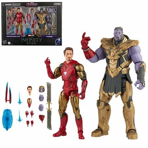 Marvel Legends Infinity Saga Avengers Endgame Iron Man 85 vs Thanos Preorder