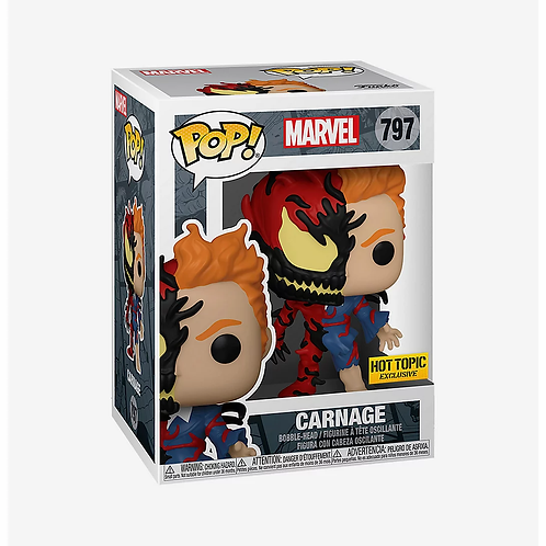 Funko Marvel Pop! Carnage Vinyl Figure Hot Topic Exclusive
