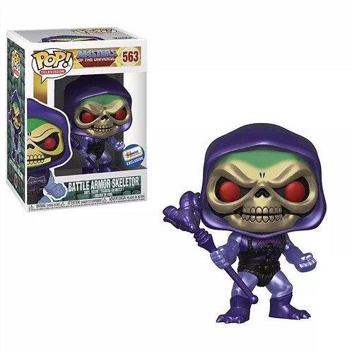Funko Pop! MOTU Battle Armor Skeletor Gemini Exclusive #563
