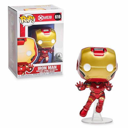 Iron Man Funko Pop! Vinyl Bobble-Head Figure – W.E.B. – Limited Release Preorder