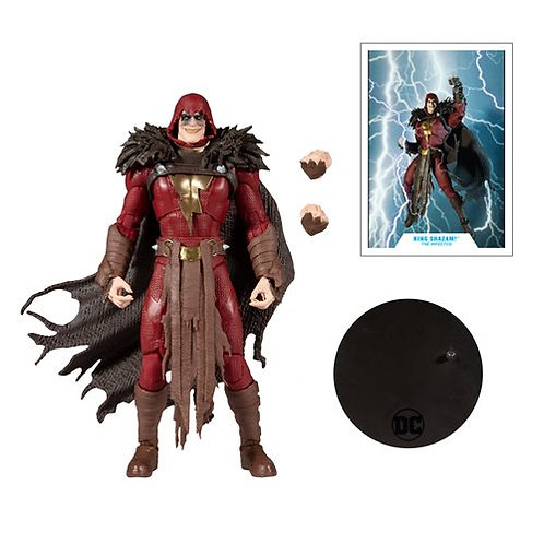 DC Multiverse King Shazam! 7-Inch Scale Action Figure Preorder