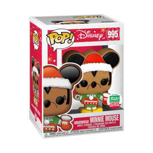 Funko POP! GINGERBREAD MINNIE MOUSE