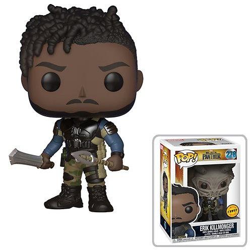 Black Panther Erik Killmonger Pop! Common + Chase Bundle Preorder