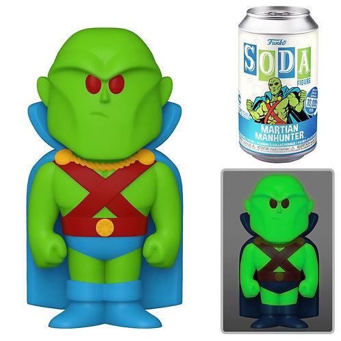 DC Comics Martian Manhunter Vinyl Soda Figure Sealed