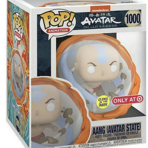 Funko POP The Last Airbender AANG Avatar State Glow in the Dark Target Exclusive