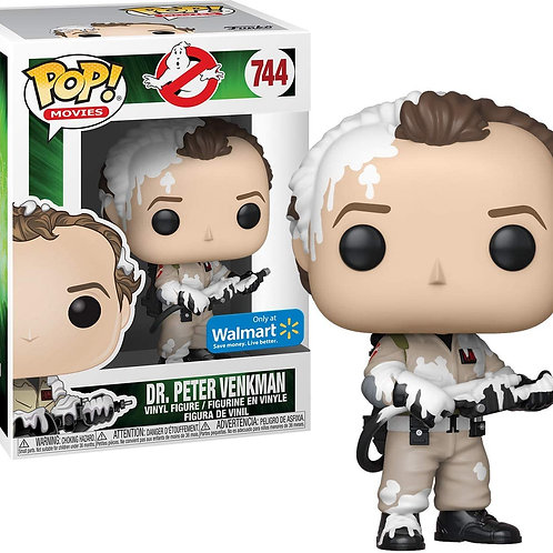 Funko POP! Movies Ghostbusters #744 Dr. Peter Venkman Walmart Exclusive