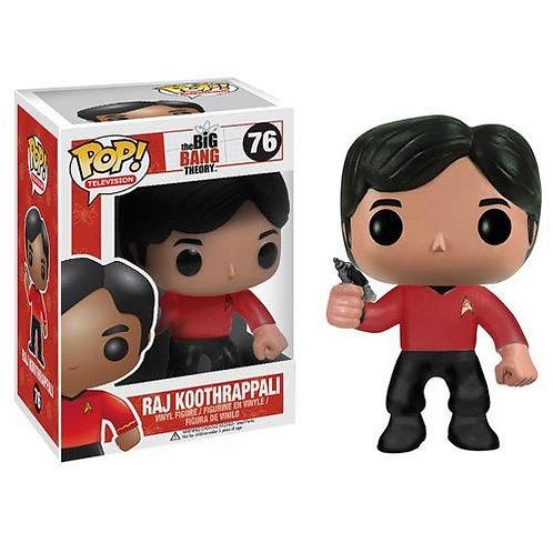 Funko POP! Television Raj Koothrappali  Star Trek (Box Damaged)