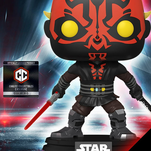 Funko Pop! Chalice Collectibles Exclusive: Star Wars: Darth Maul  Preorder#450