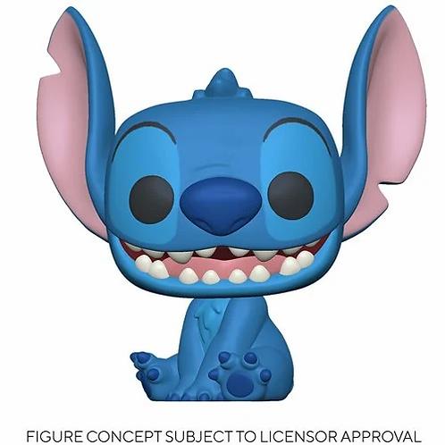 Lilo & Stitch Smiling Seated Stitch Pop! Vinyl Figure PREORDER