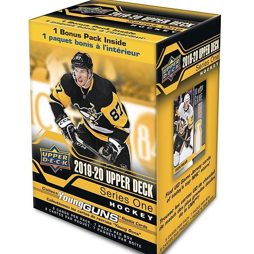 2019/20 Upper Deck Series 1 Hockey 7-Pack Blaster Box