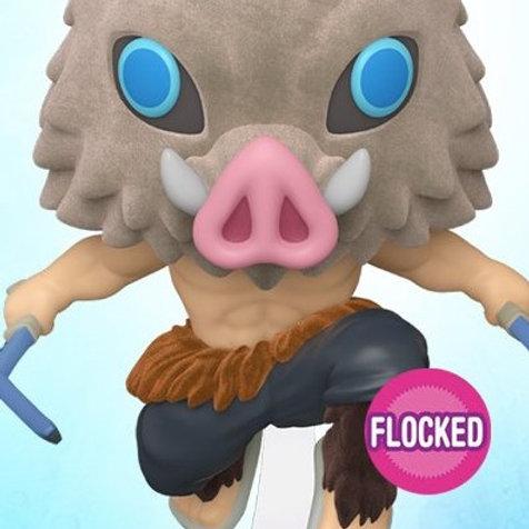 Funko Pop! Chalice Collectibles Exclusive Demon Slayer Inosuke Flocked Preorder