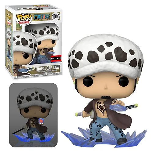One Piece Trafalgar Law Room Attack Pop! AAA Ex Common + Chase Bundle Preorder