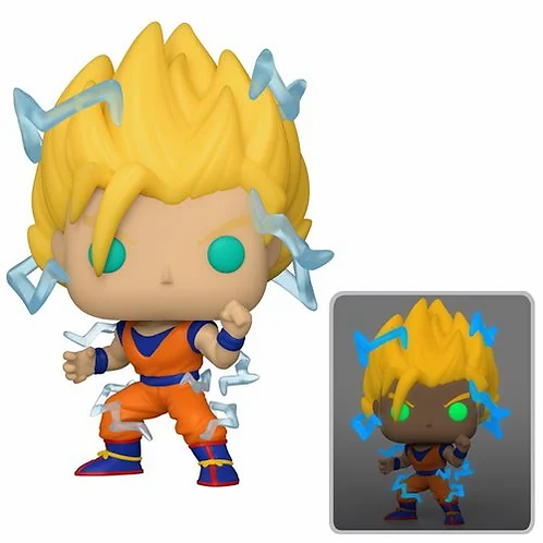 Funko Pop! Dragon Ball Z Super Saiyan 2 Goku  Previews Exclusive
