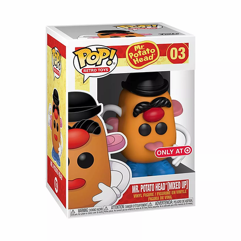 Funko Pop! MR. POTATO HEAD WITH MIXED FACE