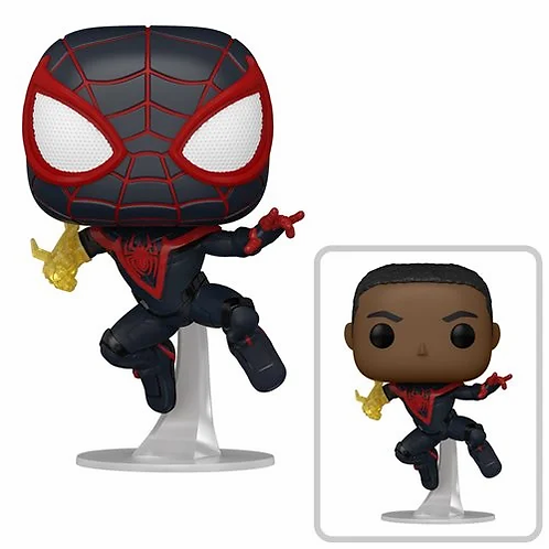 Funko Pop! Games: Marvel's Spider-Man: Miles Morales Classic suit