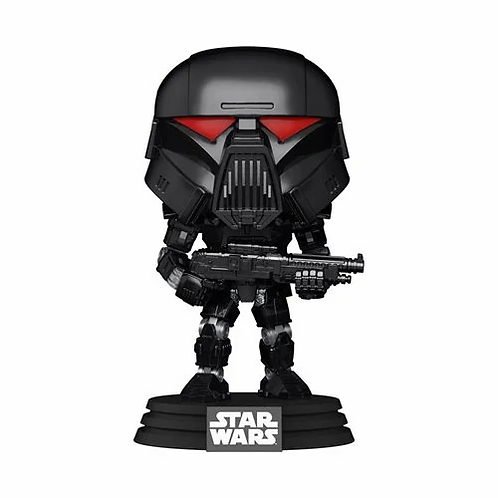 Star Wars: The Mandalorian Dark Trooper (Battle) Pop! Vinyl Figure Preorder