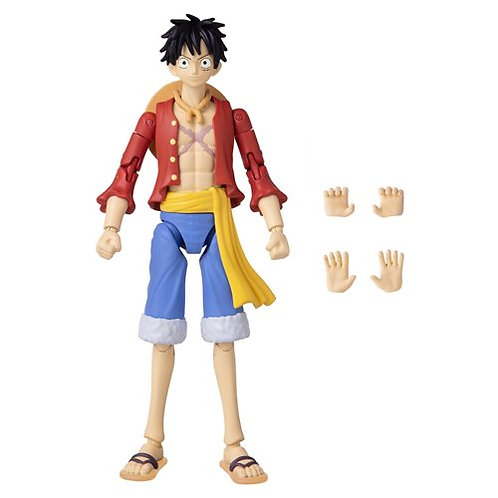 One Piece Anime Heroes Monkey D. Luffy Action Figure Preorder