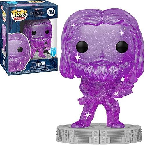 Avengers Infinity Saga Thor Purple Artist Series Pop! Preorder